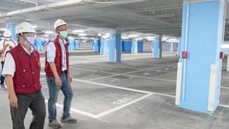 三重2校停車場完工 預計年底啟用添790個汽機車位