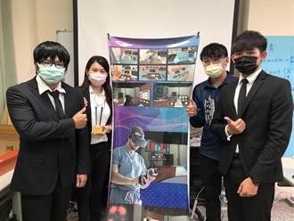 弘光師生結合VR、腦波研發復健系統 遠距照護減少染疫風險