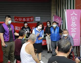雲林縣啟動街友疫苗接種專案 首日接種21人