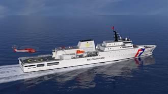 海巡署第3艘嘉義級巡防艦 今在台船高雄廠提前開工