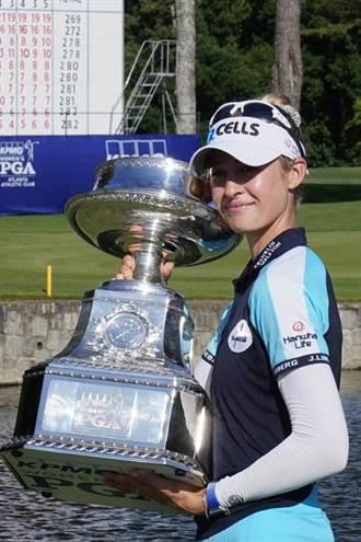 LPGA錦標賽》奈莉柯達3桿優勢 連兩場賽事奪冠