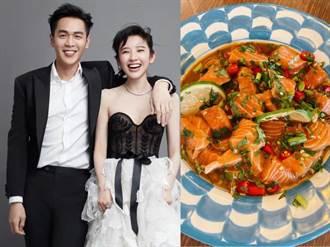 張若昀、唐藝昕官宣結婚兩周年 曬美食暗藏閃光彈
