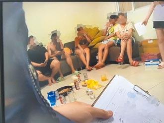 8越南男女聚會慶喬遷 吞48萬元罰單