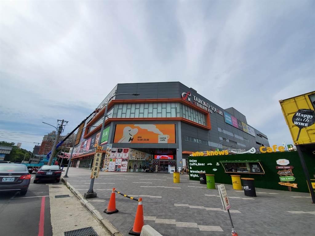 「武陵路」各式餐飲店家聚集,生活機能佳,是當地商圈發展核心。(圖/永慶不動產新竹竹光加盟店提供)