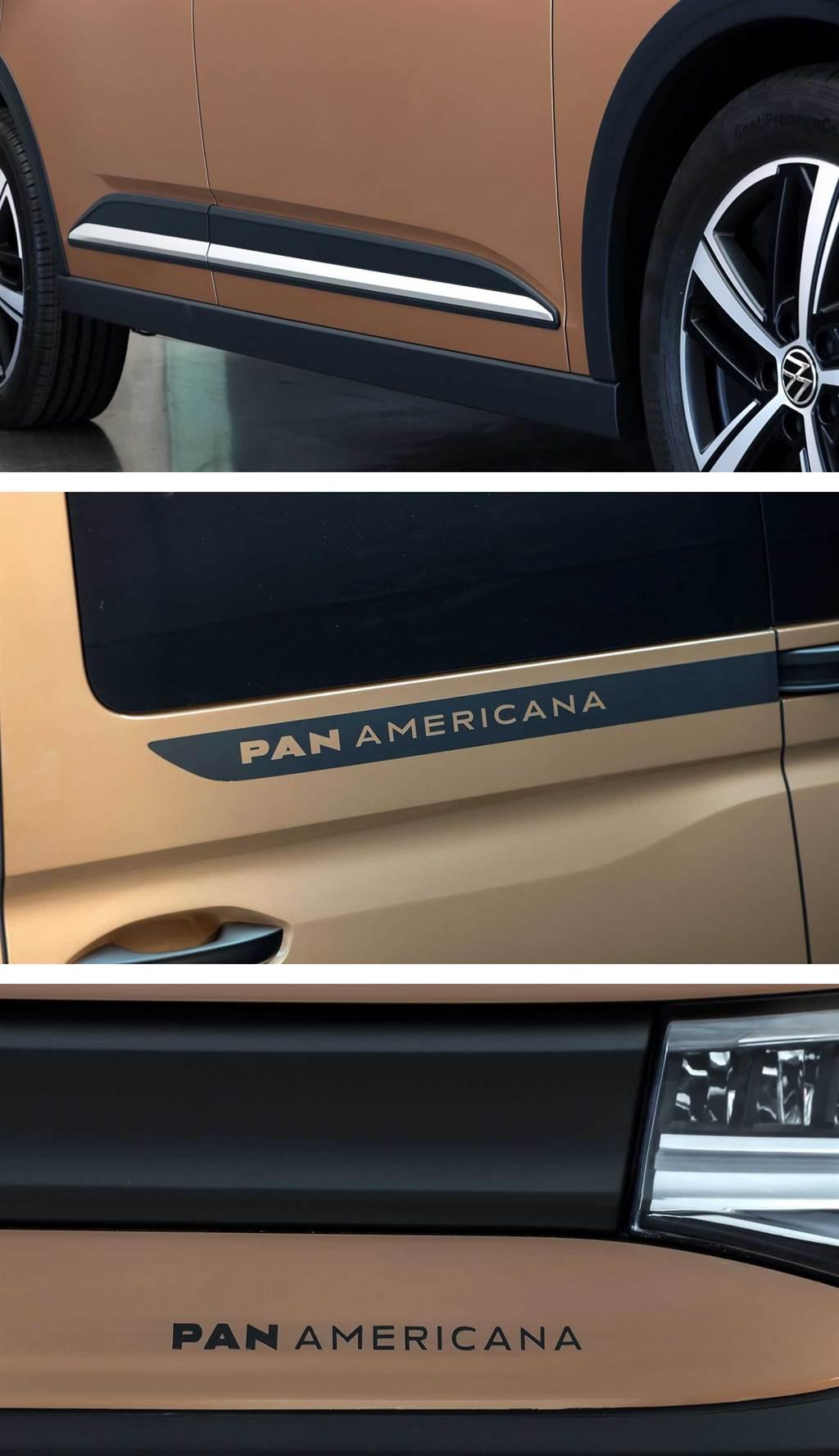 享受無拘無束的美洲壯遊形象,Volkswagen Caddy PanAmericana 跨界 LAV 亮相