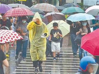 西南風影響 易有短時強降雨!南高屏大雨特報