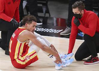 NBA》老鷹宣布崔楊骨頭挫傷 東決G4上場存疑
