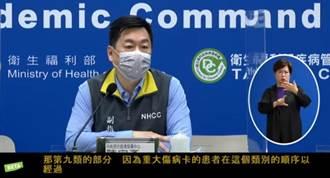 台灣抗疫排名倒數 陳宗彥:剛好碰到疫情爆發