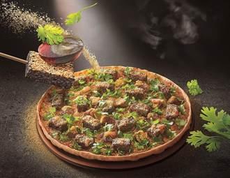 香菜皮蛋豬血糕尬墨西哥辣椒 必勝客創新與經典比薩同日開賣