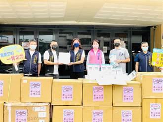 立委楊瓊瓔牽線 民間募防疫物資捐衛生局