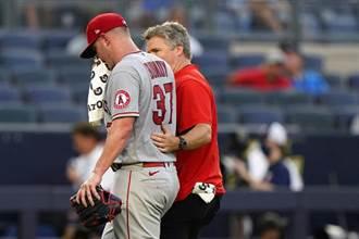 MLB》杜蘭特也傻眼 天使投手比賽中忽然嘔吐