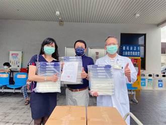 萬寶隆空間設計捐贈台南一線醫護、警消人員近3000個醫療用防護面罩