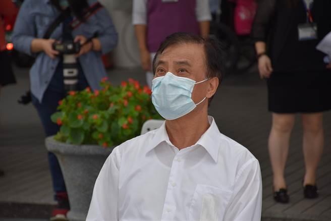 許久未露臉的蘇嘉全目前擔任綠色立委聯盟理事長。(謝明俊攝)