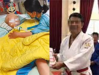 柔道童遭重摔27次撐70天不治 狠心教練故意犯罪恐無期徒刑