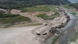 國軍支援清淤3個月 曾文水庫庫容增加30萬立方公尺