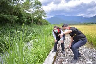 花蓮縣增加治水預算 強化汛期排水系統