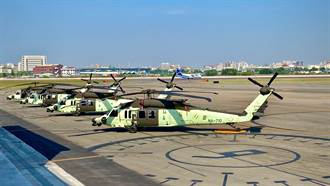 空勤6架黑鷹直升機7月加入救災 夜間海上搜救能力超威
