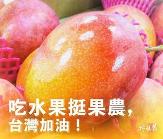 林佳龍買200箱芒果挺果農 黃偉哲感謝協助行銷