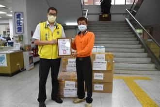 竹南成疫情重災區 台北菩提禪堂主動捐物資防疫