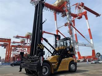 萬海強化東京大井碼頭效率 三部堆高機進駐