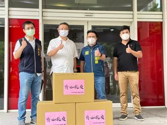 Delta病毒隱憂 七年級企業主找議員捐防疫物資