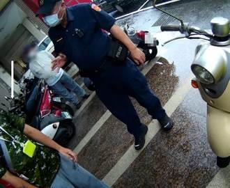 男來台南找工作卻落空 隻身路邊淋雨引警關心