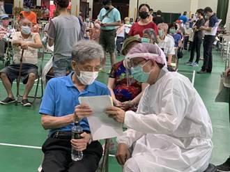 台中市殘劑開打 韓國人來台探親幸運中籤接種