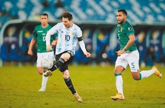 美洲盃奪勝 梅西創阿根廷出賽紀錄