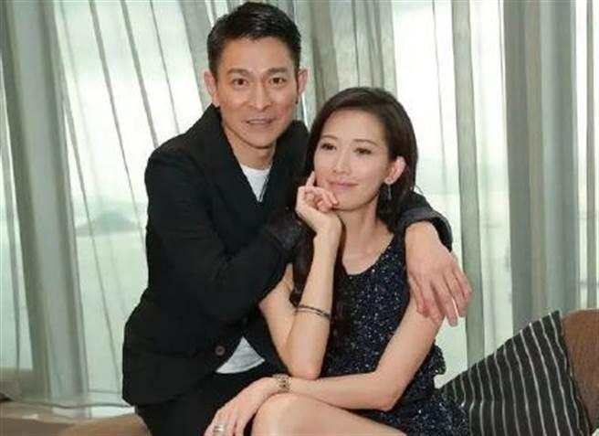 林志玲和劉德華因合作拍片成為好友。(圖/翻攝自微博)