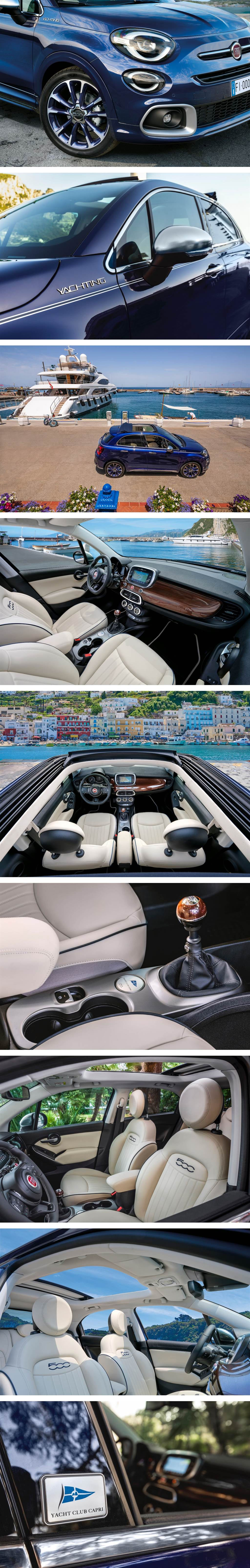 享受陸地「行船」的自由感,FIAT 500 Yachting/500X Yachting 特別仕樣車發表!