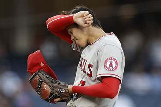 MLB》大谷遭洋基無情重擊 0.2局狂失7分黯然下場