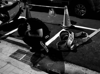 【4死惡火】勇消陳志帆氧氣用盡殉職 同袍捂臉痛哭照令人心碎