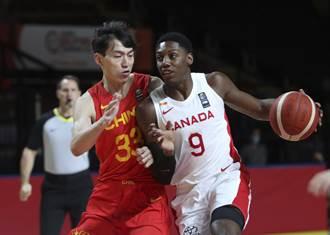 奧運男籃資格賽》加拿大狠宰大陸30分 周琦下半場熄火