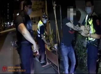 半夜持刀中埔一街閒晃 男遭逮還帶警查獲友人群聚毒窟