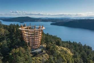 加拿大新景點  天空步道俯瞰壯麗山川