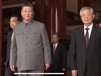 胡錦濤溫家寶亮相建黨百年大會 江澤民與朱鎔基未現身