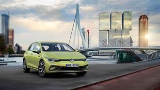 數位革命展現絕對魅力 VW Golf 8豪華配備陣容94.8萬起