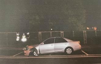 7旬翁久病纏身沒錢租屋 開車自撞逃死再關車內輕生