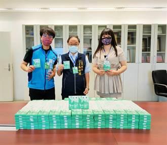 同島一命! 台中市議員募防疫物資給第一線防護人員