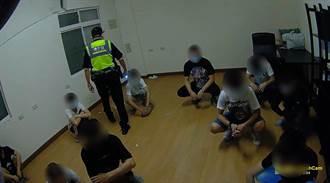 左營青少年聚集 警方開出12張舉發單