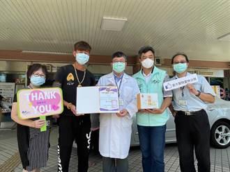 大仁哥桶仔雞贈雞精 支持雲林醫護、鼓勵捐血
