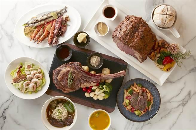台北寒舍艾美酒店攜手寒舍艾麗酒店打造的「美麗廚房」,可買到2飯店經典菜色。(圖/寒舍艾美酒店)