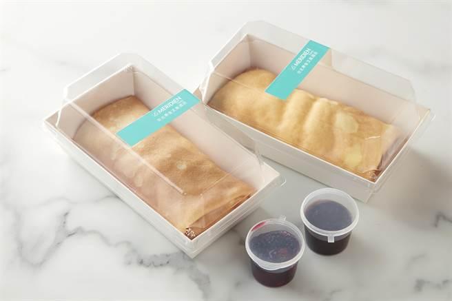 「美麗廚房」提供「法式薄餅」外賣。(圖/寒舍艾美酒店)