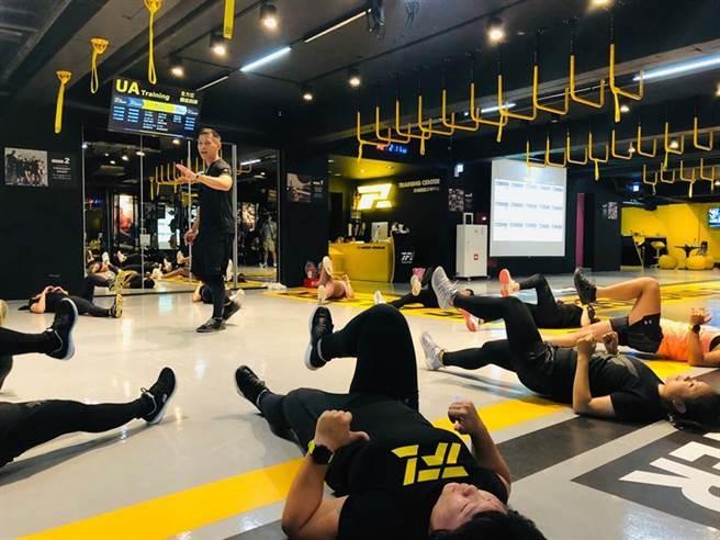 (疫情期間要維持日常運動課程和收入,讓運動教練們極為傷腦筋。圖/業者)
