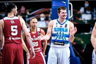 東奧男籃資格賽》東契奇輕鬆打 斯洛維尼亞再宰波蘭晉級