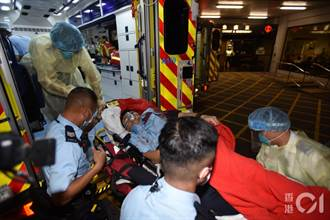 香港回歸24周年 銅鑼灣員警中刀凶嫌自殺身亡  「一哥」蕭澤頤到場了解