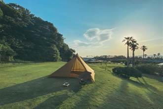 千葉館山最美花園變身露營天地 試營運7月開始