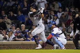 MLB》張育成大復活 對太空人3支2終結打擊乾旱