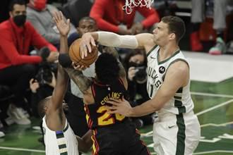 NBA》4人得分破20!公鹿宰掉老鷹宣告東決聽牌