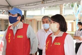 嘉義市莫德納疫苗開打 首波1490人完成接種